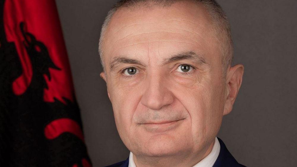 Ιλίρ Μέτα (Πρόεδρος Αλβανίας): Είμαστε δίπλα στους φίλους λαούς Ελλάδας και Τουρκίας