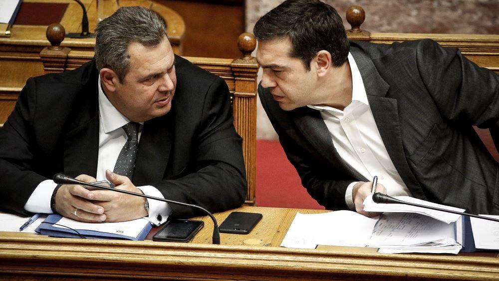 Π. Καμμένος: Θα παραιτηθώ αν ψηφιστεί η συμφωνία των Πρεσπών από την ΠΓΔΜ