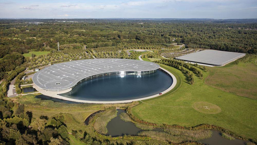 """Στο """"σφυρί"""" οι εγκαταστάσεις της McLaren στο Woking"""