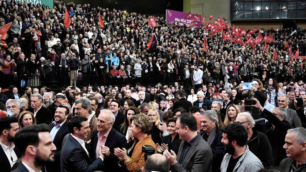 """""""Παντιέρα"""" σκληρού αντιπολιτευτικού ροκ σήκωσε ο Τσίπρας"""