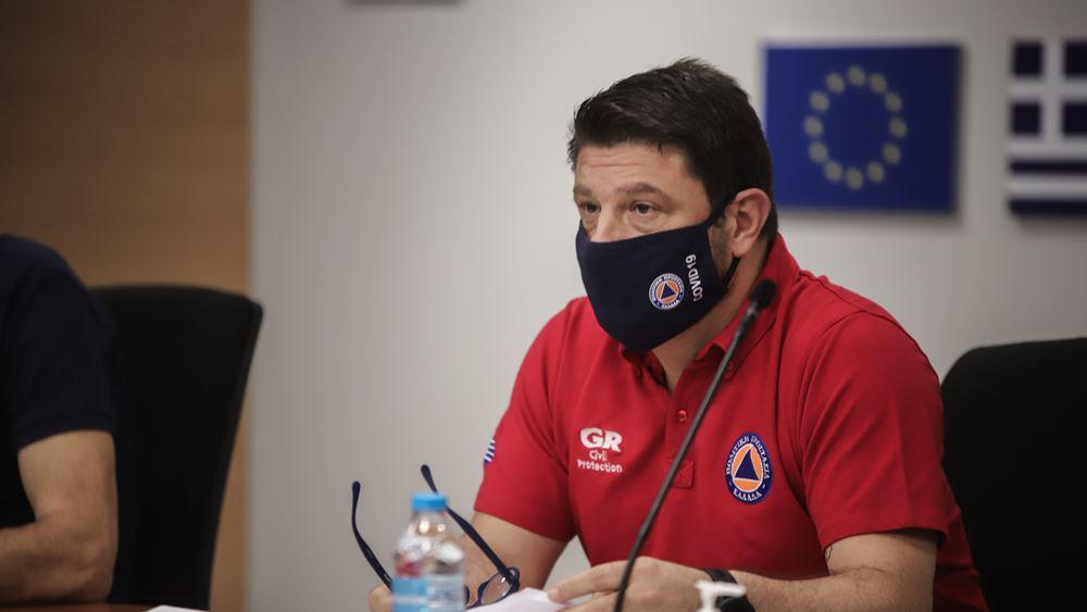 Σε κατάσταση 'ειδικής κινητοποίησης πολιτικής προστασίας' περιοχές σε δυτική Ελλάδα και Πελοπόννησο