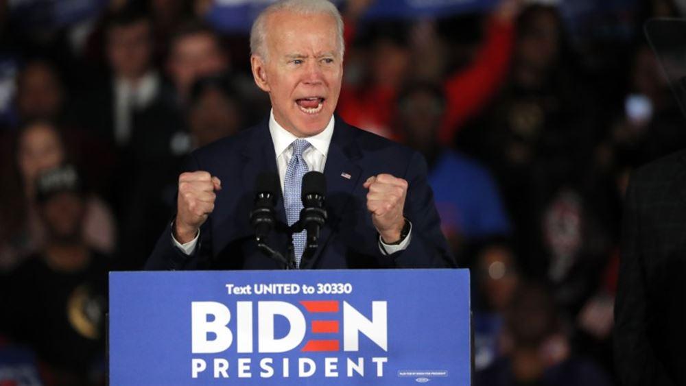 ΗΠΑ: Στις 8 μονάδες μειώθηκε το προβάδισμα του υποψήφιου των Δημοκρατικών Τζο Μπάιντεν