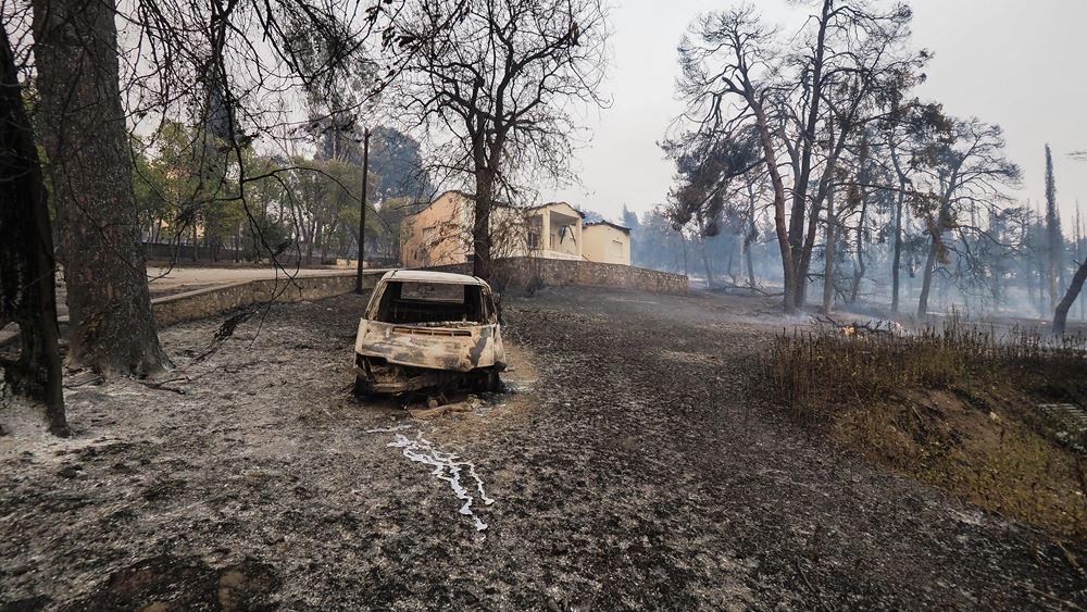 Ανεξέλεγκτη η φωτιά στη Βόρεια Εύβοια - Συνεχείς εκκενώσεις οικισμών