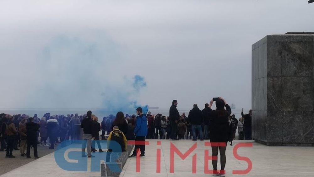 Θεσσαλονίκη: Διαμαρτυρία κατά των self test με fake news και συνωμοσιολογικές θεωρίες