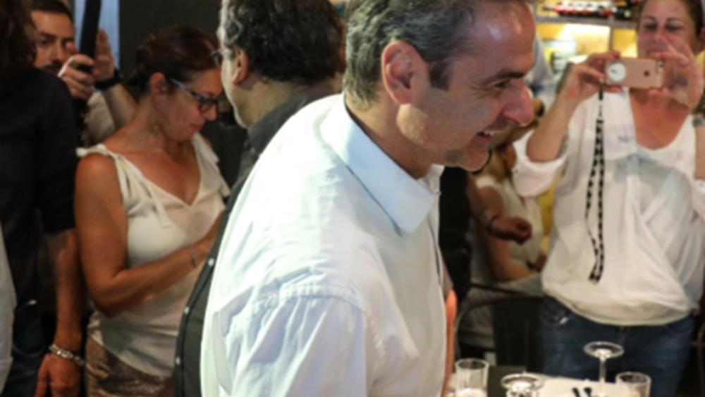 Στο Παγκράτι το γεύμα του προέδρου της ΝΔ με τους πολιτικούς συντάκτες