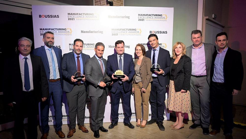 ΤΙΤΑΝ: Κορυφαίες διακρίσειςστα Manufacturing Excellence Awards 2021