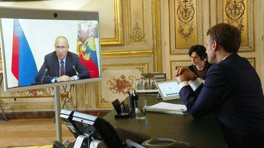 Μετά τη Μέρκελ, επαφές Πούτιν και με Μισέλ - Μακρόν για τη Λευκορωσία