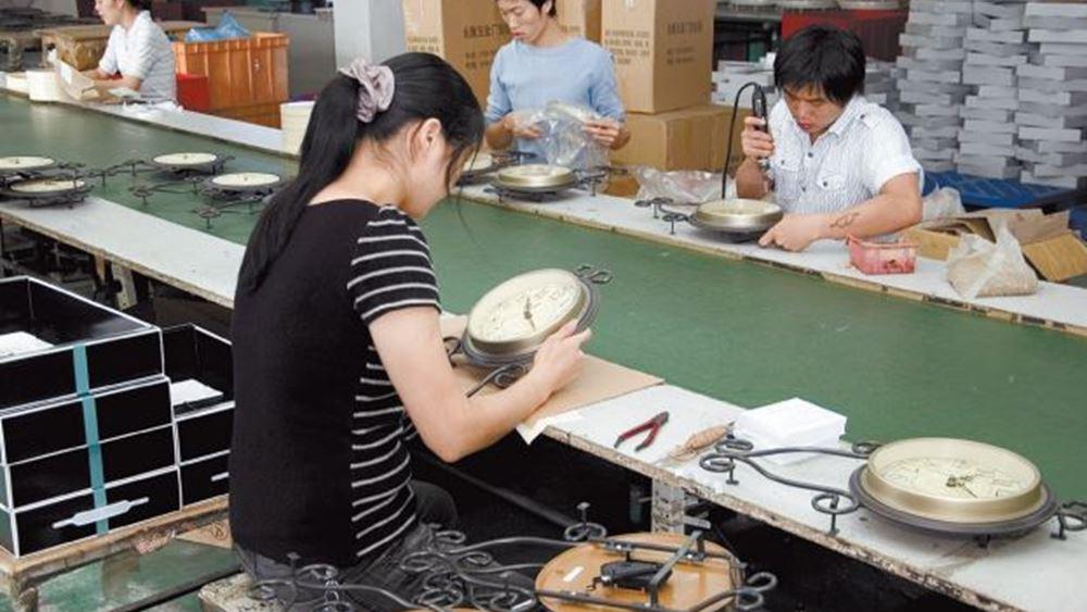 «Καμπανάκι» για τον παγκόσμιο πληθωρισμό από τα εργοστάσια της Κίνας