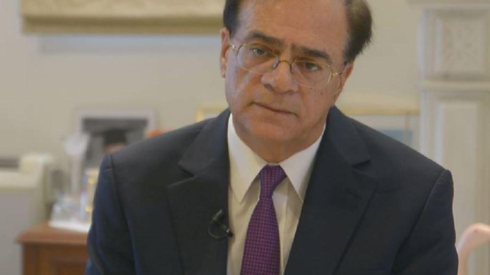 Ο Γκίκας Χαρδούβελης στην Επιτροπή Ελέγχου της Εθνικής Τράπεζας