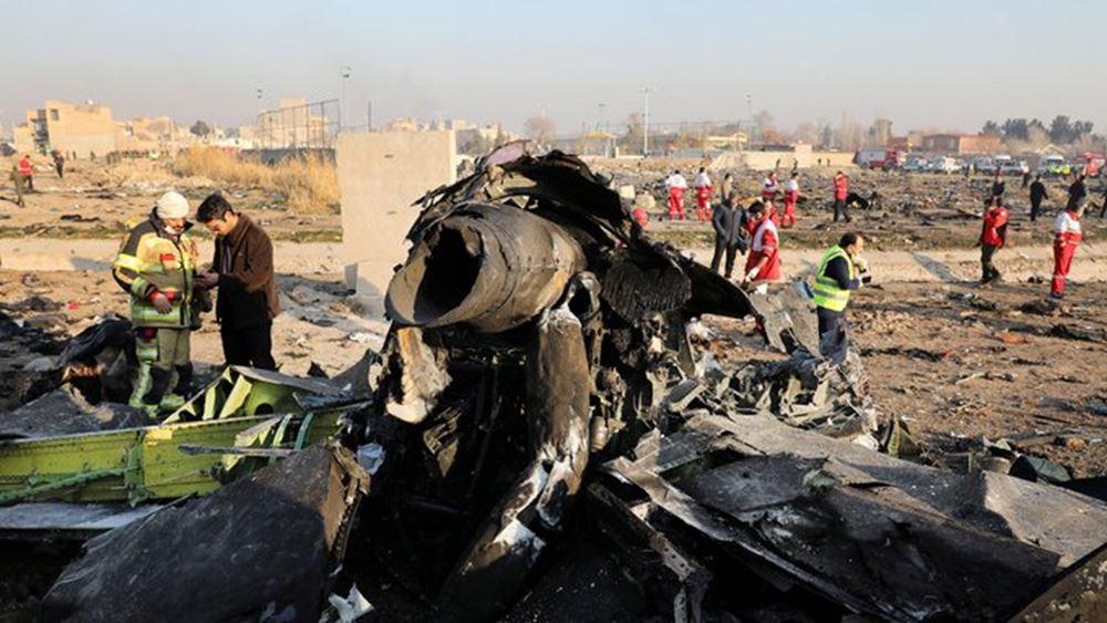 """Ιράν: Το ουκρανικό αεροσκάφος που συνετρίβη είχε κάνει αναστροφή εξαιτίας ενός """"προβλήματος"""""""