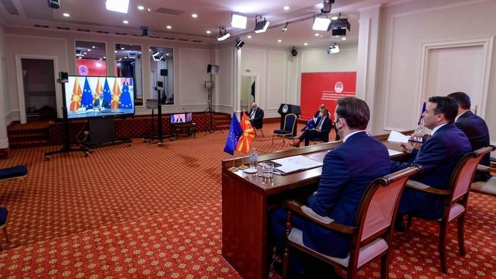 Τηλεδιάσκεψη Ζοζέπ Μπορέλ με τον Ζόραν Ζάεφ