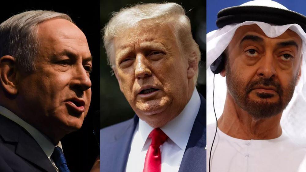 """Συμφωνία ΗΑΕ - Ισραήλ: Αποκαθιστούν διπλωματικές σχέσεις, """"παγώνει"""" η προσάρτηση παλαιστινιακών εδαφών"""