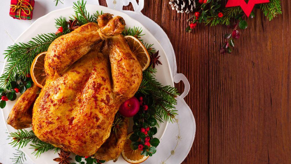 ΕΣΕΕ: Κατά 3,68% ακριβότερο φέτος το χριστουγεννιάτικο τραπέζι