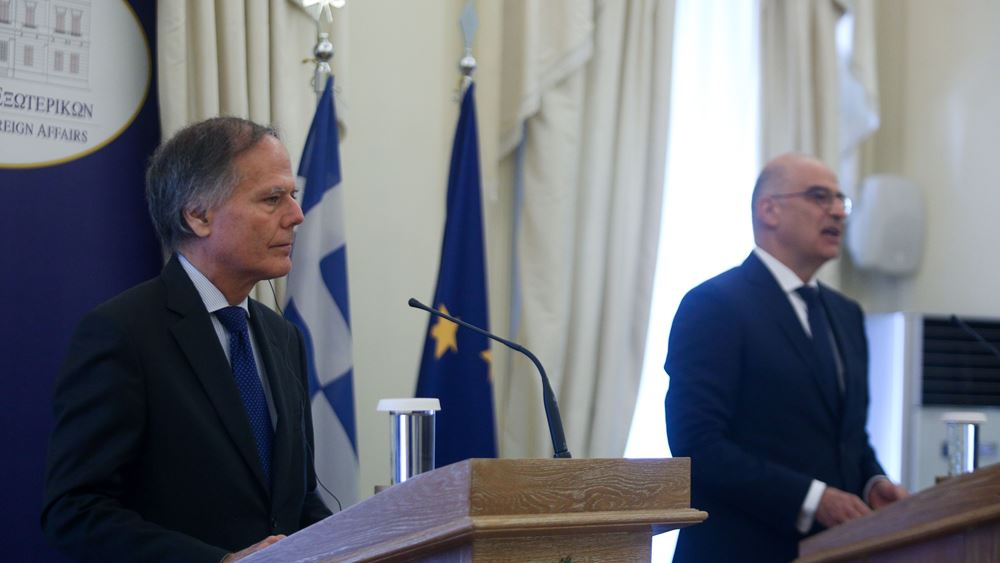 Δένδιας - Μιλανέζι: Τα ενεργειακά του Νότου περνούν μέσα από την Ελλάδα και μέσω της Ιταλίας στην καρδιά της Ευρώπης