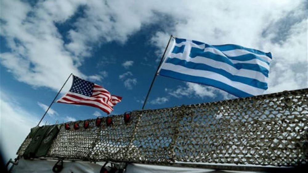 Επίσκεψη διοικητή της αντιαεροπορικής και αντιπυραυλικής διοίκησης των ΗΠΑ στην Ευρώπη στο πεδίο βολής Κρήτης