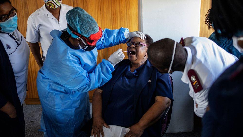 Νέο στέλεχος του SARS-CoV-2 εντοπίστηκε στη Νότια Αφρική, ανακοίνωσε ο υπουργός Υγείας