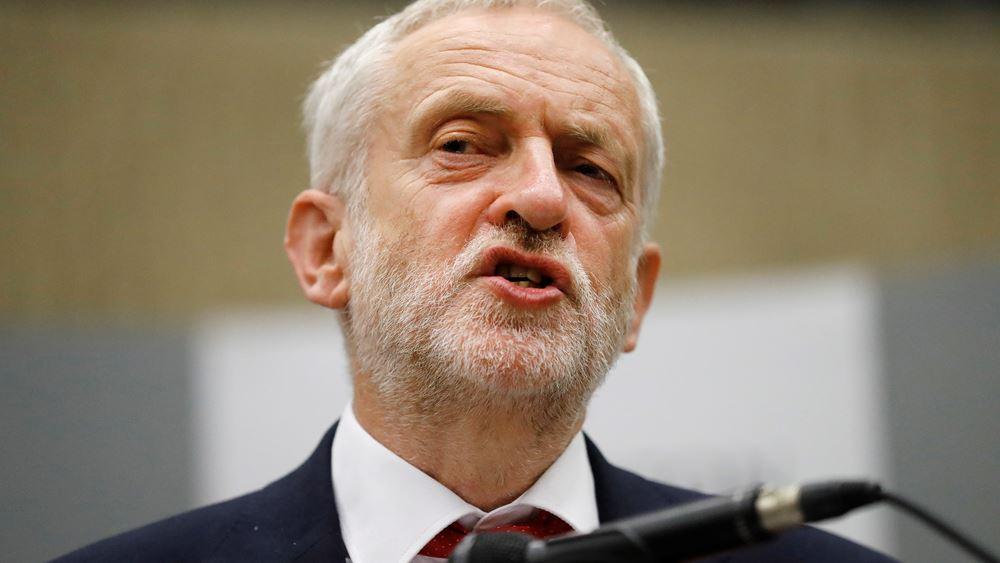 Βρετανία: Το βορειοϊρλανδικό DUP δεν θα στηρίξει μια κυβέρνηση υπό τον Τζέρεμι Κόρμπιν