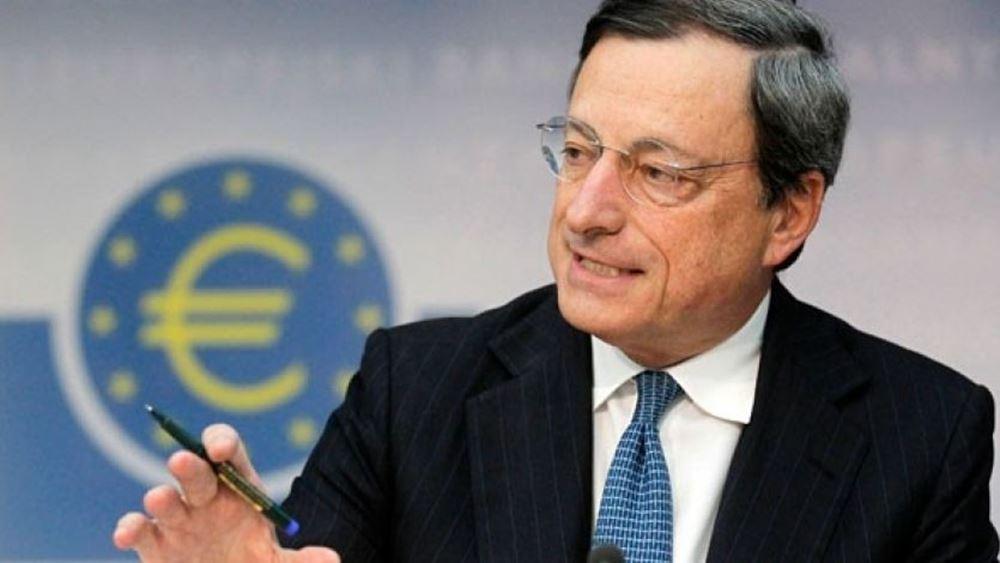 """ΕΚΤ: Οι μισές τράπεζες της Ευρωζώνης δεν θα μπορούσαν να ξεπεράσουν μια """"ξηρασία"""" μετρητών"""