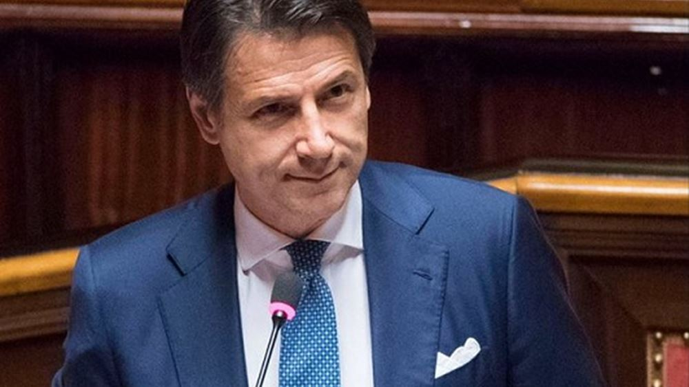 Ιταλία: Ο Κόντε παρουσίασε τα βασικά σημεία του κυβερνητικού προγράμματος Πεντάστερων και Δημοκρατικών