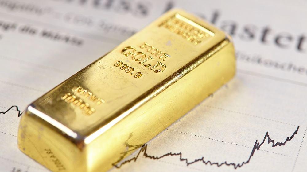 Με κέρδη μετά από δύο συνεδριάσεις απωλειών έκλεισε ο χρυσός