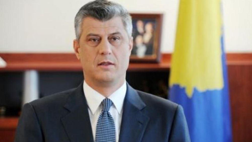 Για εγκλήματα πολέμου κατηγορείται ο πρόεδρος του Κοσόβου Χασίμ Θάτσι
