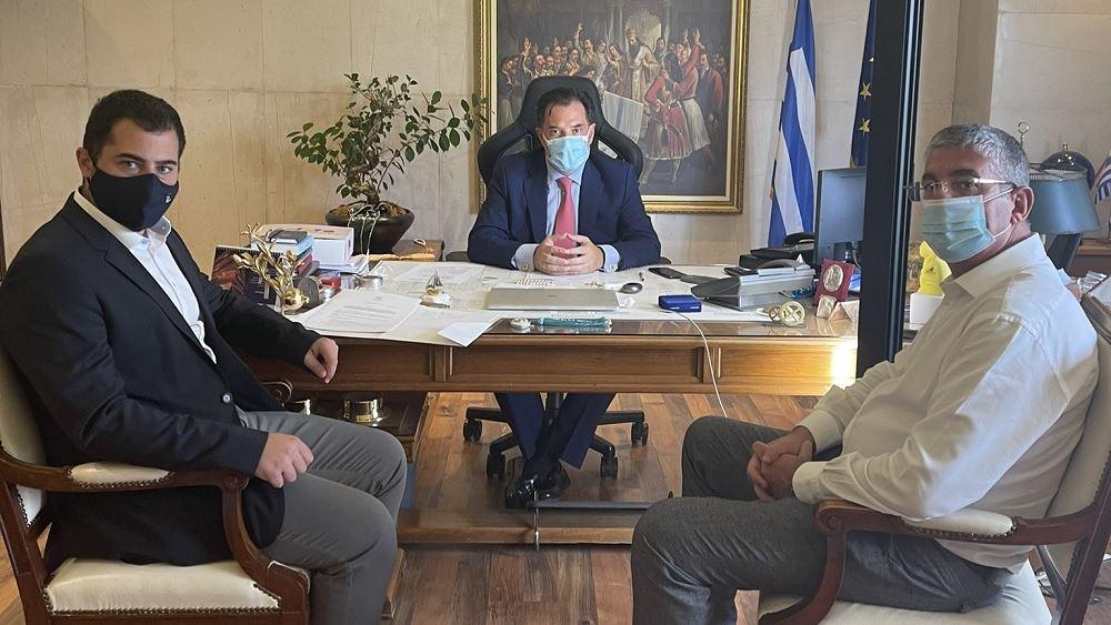 Δράσεις μέσω ΠΔΕ και ΕΣΠΑ για τη Βόρεια Εύβοια συζήτησαν Αδ. Γεωργιάδης και περιφερειάρχης Στ. Ελλάδας