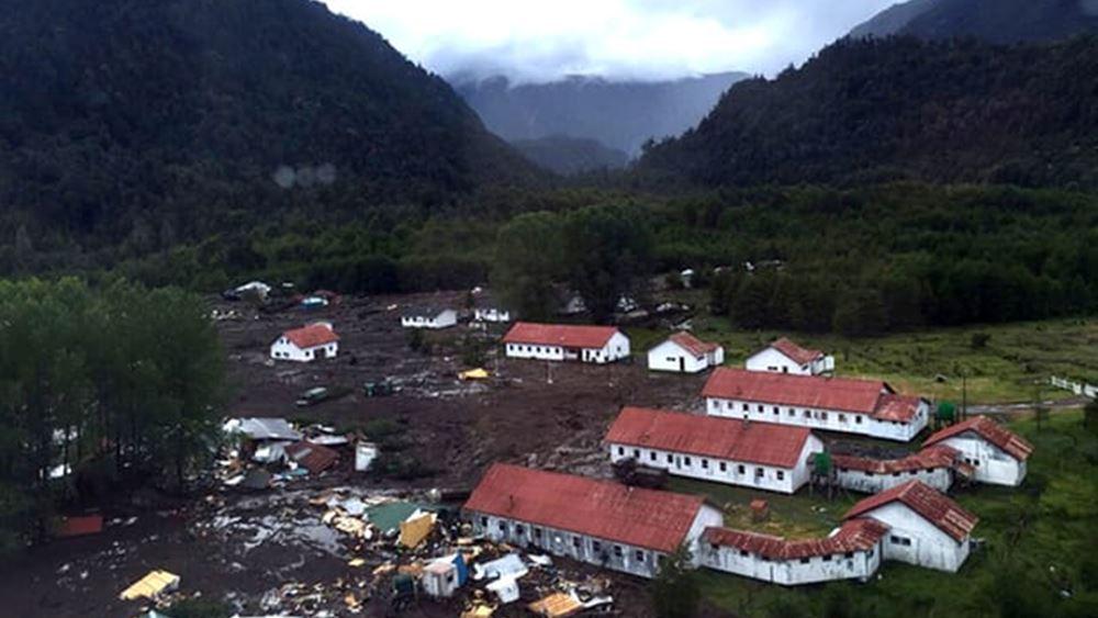 Τουλάχιστον πέντε νεκροί από κατολίσθηση λάσπης σε χωριό της Χιλής