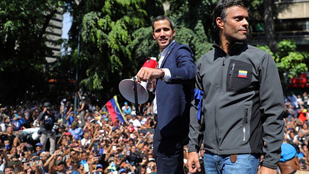 Βενεζουέλα: Τη σύλληψη του ηγέτη της αντιπολίτευσης Λεοπόλδο Λόπες ζητεί το Ανώτατο Δικαστήριο