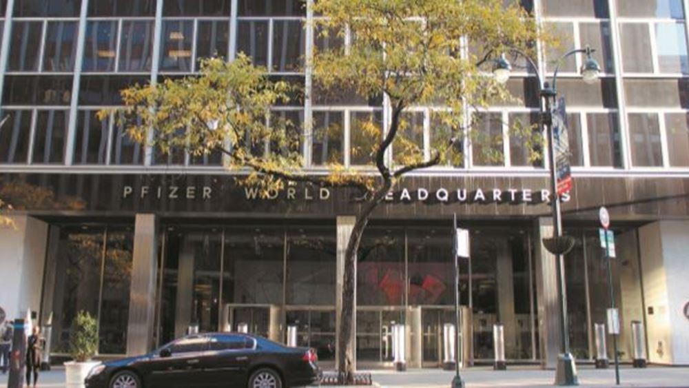 """Τα """"κλειδιά"""" της μεγάλης επένδυσης της Pfizer στην Ελλάδα"""