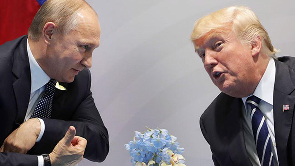 Ο Πούτιν δηλώνει έτοιμος για συνομιλίες με τις ΗΠΑ- Ελπίζει να πάει ο  Τραμπ στη Μόσχα τον Μάιο