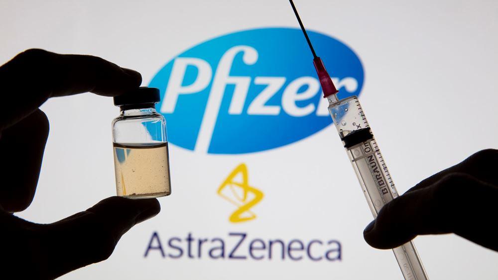 Ισπανικό υπ. Υγείας: Οσοι εμβολιάστηκαν με το AstraZeneca να κάνουν τη δεύτερη δόση με Pfizer