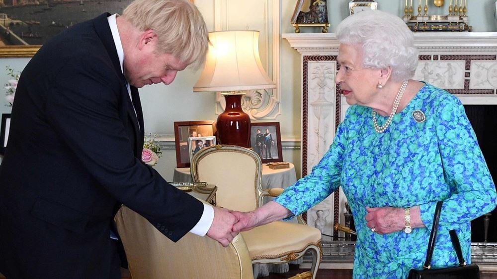 Βρετανία: Στη βασίλισσα Ελισάβετ ο Τζόνσον για να την ενημερώσει για τη διάλυση του κοινοβουλίου