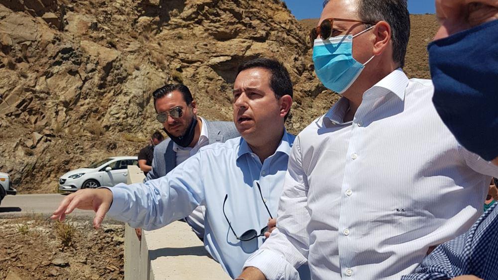 Σπ. Λιβανός: Μέχρι το 2023 ολοκληρώνεται το φράγμα που επιλύει το πρόβλημα ύδρευσης της Χίου