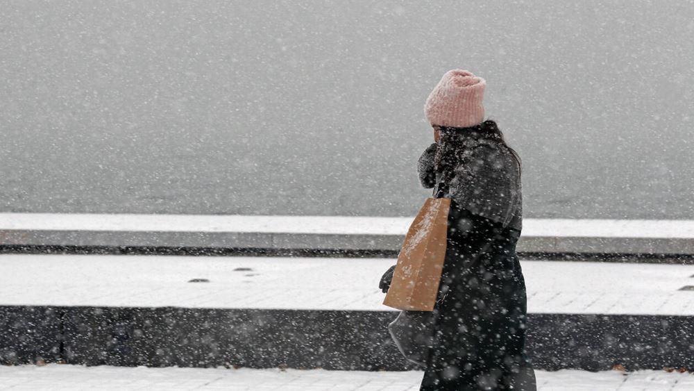 """Η """"Ωκεανίς"""" φέρνει καταιγίδες, χαλάζι, χιόνια, ανέμους και κρύο σε όλη τη χώρα"""