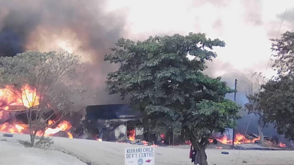 Ουγκάντα: Δεκαεννέα νεκροί από έκρηξη βυτιοφόρου που μετέφερε καύσιμα