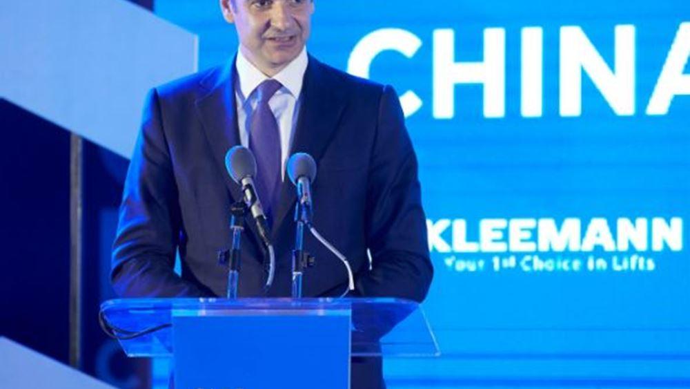 Κ. Μητσοτάκης: Στόχος οι 500.000 Κινέζοι τουρίστες στην Ελλάδα το 2020-2021