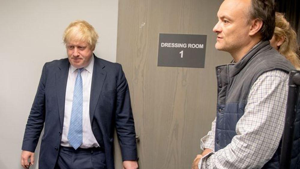 """Βρετανία: Ο Μπ. Τζόνσον """"βάζει πλάτη"""" για τον Ντ. Κάμινγκς"""
