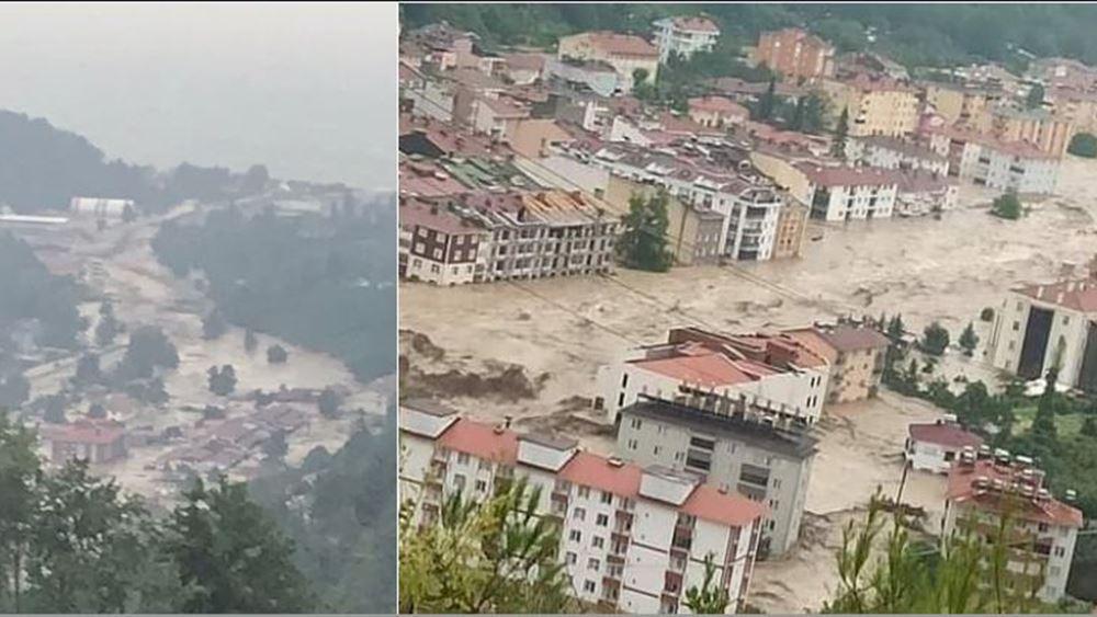 Τουρκία: Καταστροφή στην Κασταμονή - Φωνές για εκατοντάδες νεκρούς και... σπασμένο υδροηλεκτρικό φράγμα!