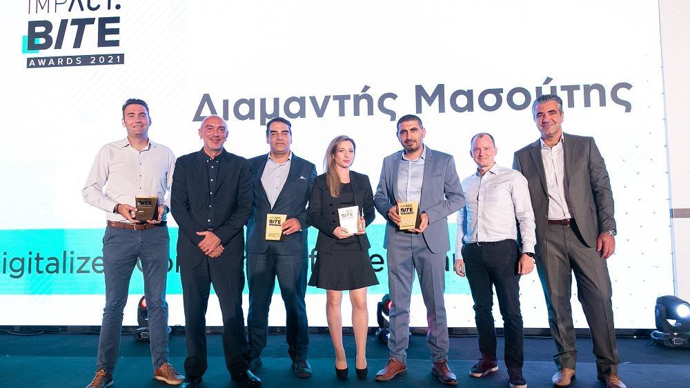 Μασουτης BITE Awards 2021