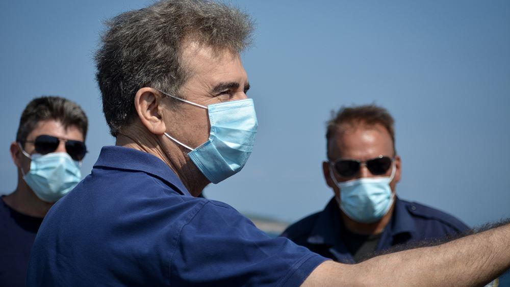 Μ. Χρυσοχοΐδης: Συνελήφθησαν πέντε άτομα για τον εμπρησμό της Μόριας