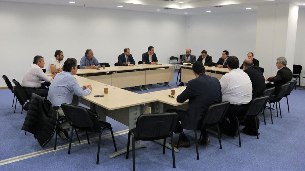 Συνάντηση Ν. Μηταράκη με εκπροσώπους Δήμου Μεγαρέων για χωροθέτηση κλειστής ελεγχόμενης δομής