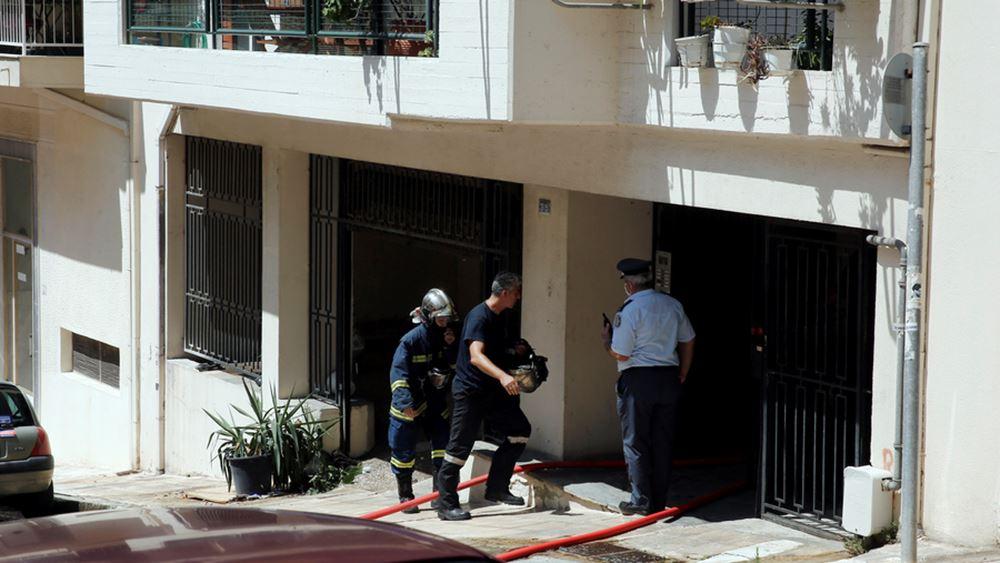 Τραγωδία στην Κυψέλη από πυρκαγιά σε διαμέρισμα ηλικιωμένου ζευγαριού
