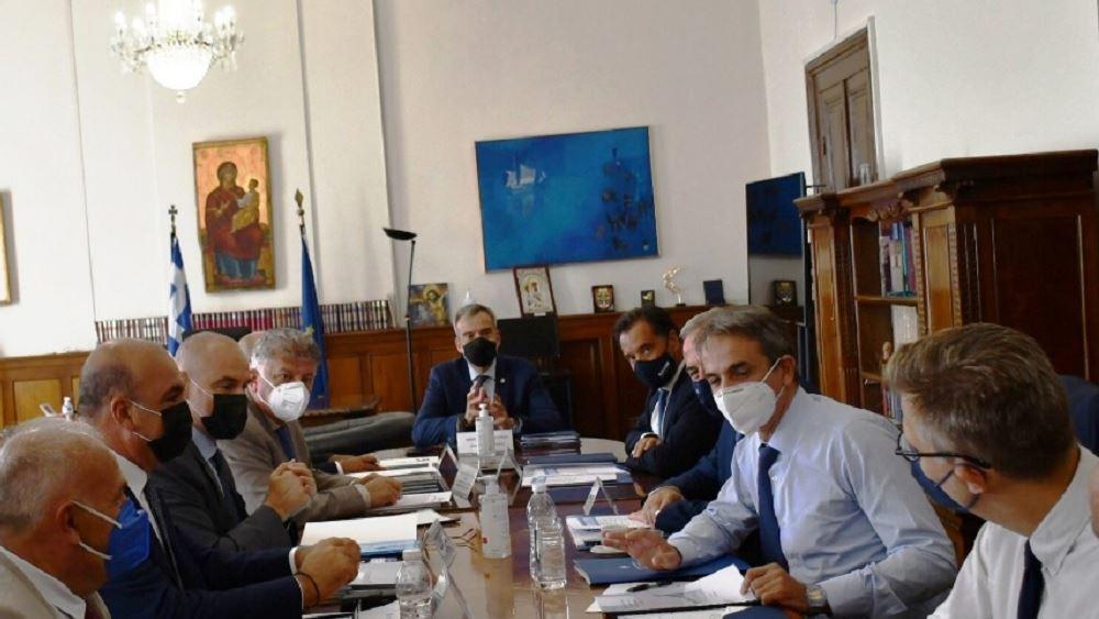 Συνάντηση ΣΒΕ με τον πρωθυπουργό Κυριάκο Μητσοτάκη