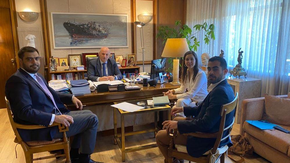 Συνάντηση Κ. Τσιάρα με την ηγεσία της ΟΝΝΕΔ