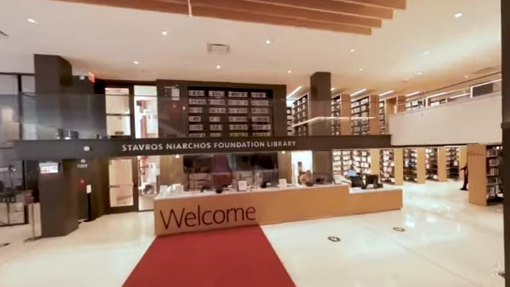 Η Stavros Niarchos Foundation Library (SNFL) άνοιξε επίσημα τις πόρτες της