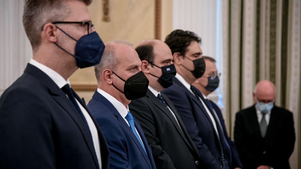 """""""Μίνι"""" ανασχηματισμός αναδιάταξης δυνάμεων - Νέος κυβερνητικός εκπρόσωπος ο Γ. Οικονόμου - Αναβάθμιση Σκέρτσου"""