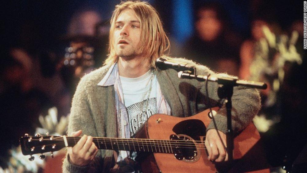 Προς 334.000 δολάρια πωλήθηκε η ζακέτα του Κερτ Κομπέιν των Nirvana