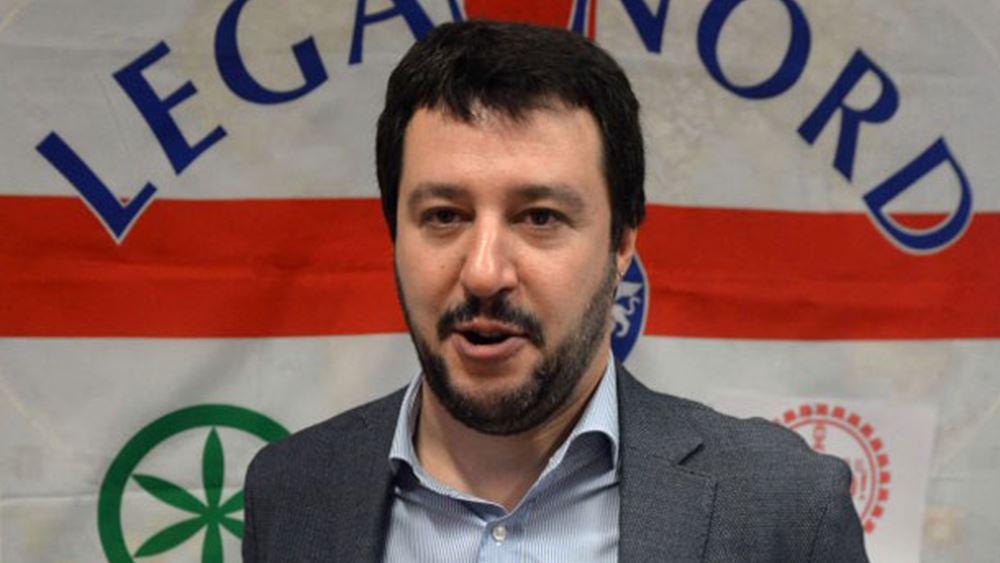 """Ιταλία: Προκαλεί βουτιά στα ομόλογα η """"αποστασία"""" Salvini"""