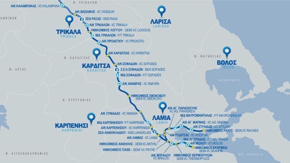 Δίνονται σήμερα στην κυκλοφορία τα πρώτα 14 χιλιόμετρα του Νότιου τμήματος του Ε65
