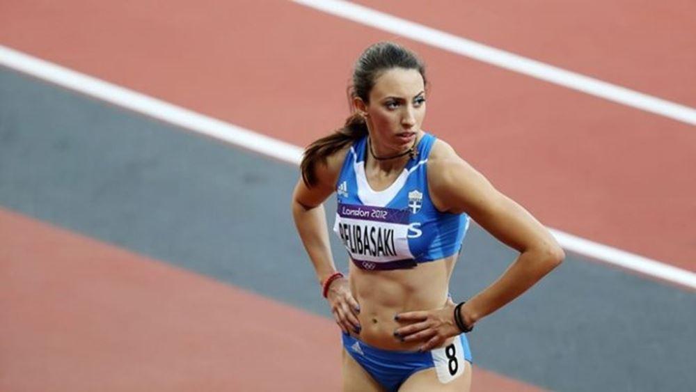 Ασημένιο μετάλλιο για την Μ. Μπελιμπασάκη με νέο πανελλήνιο ρεκόρ στα 400 μ.